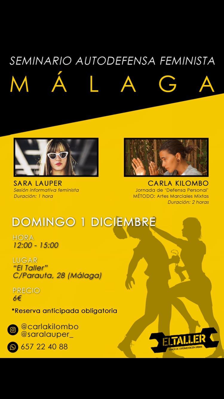 Seminaria Autodefensa feminista MAalga